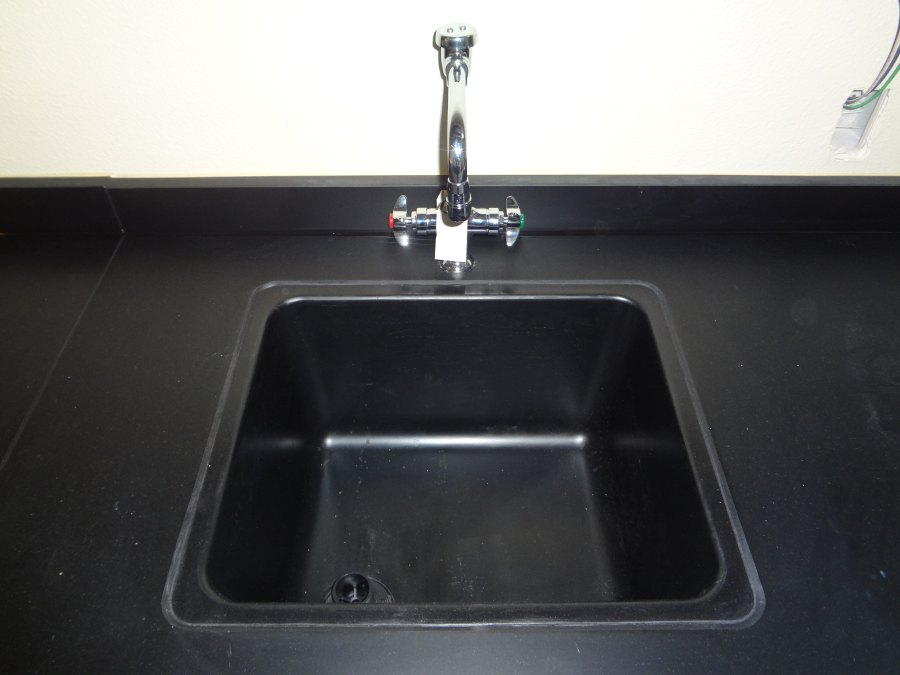 Epoxy drop-in sink